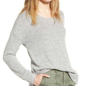 Caslon Cozy Sweatshirt Grey Heather